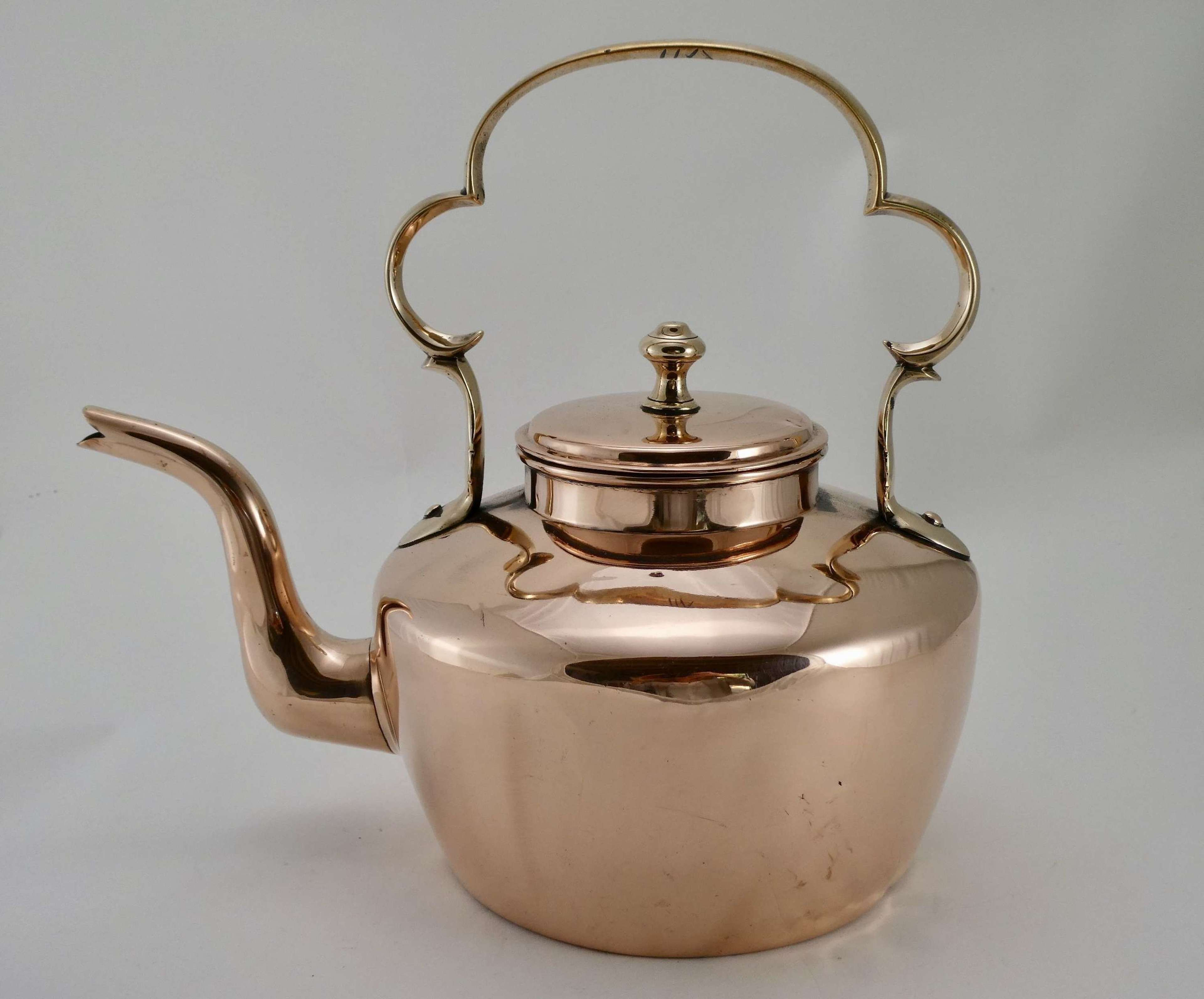 Early 19th Century Copper Kettle