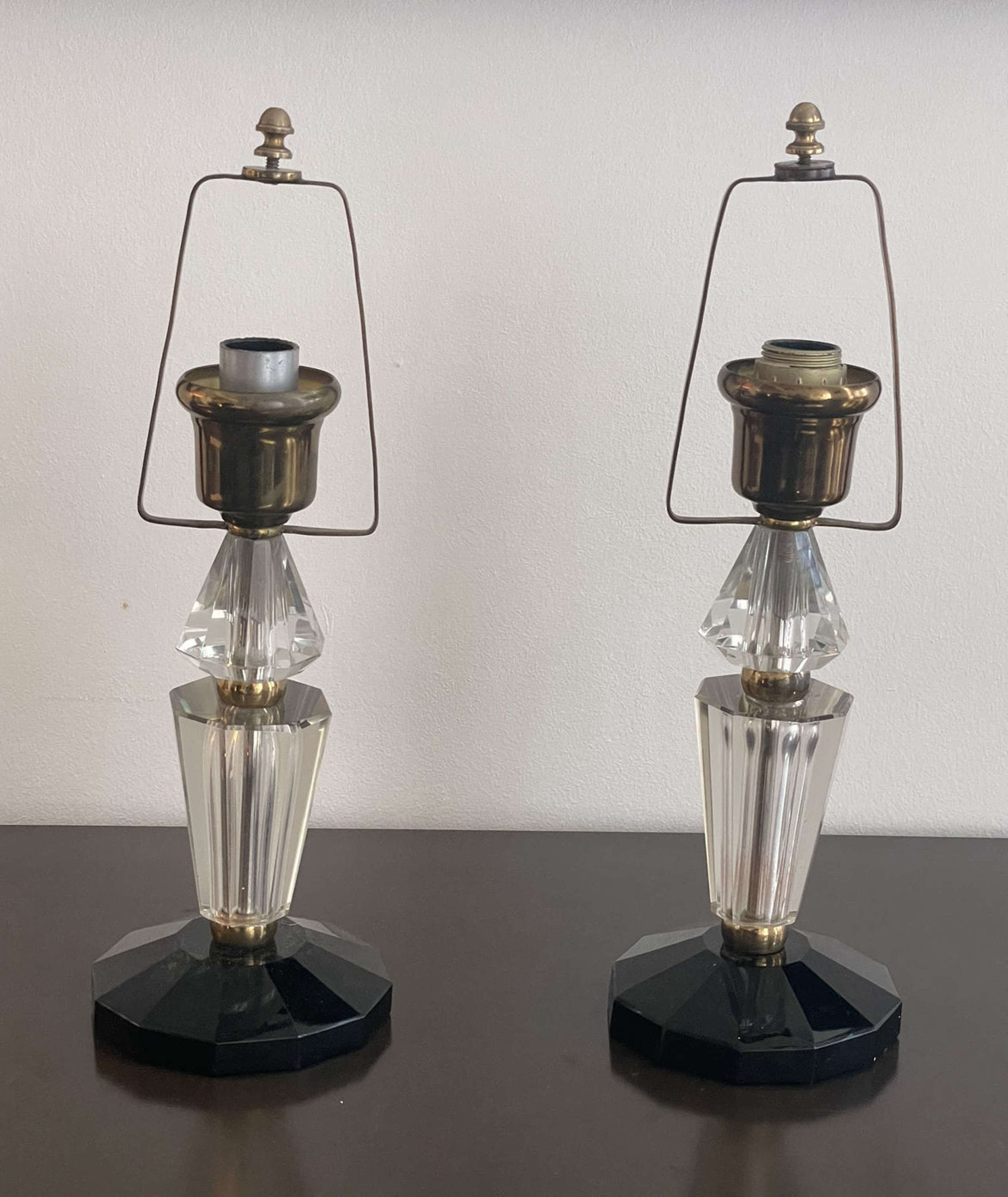 Pair of Art Deco Table Lamps