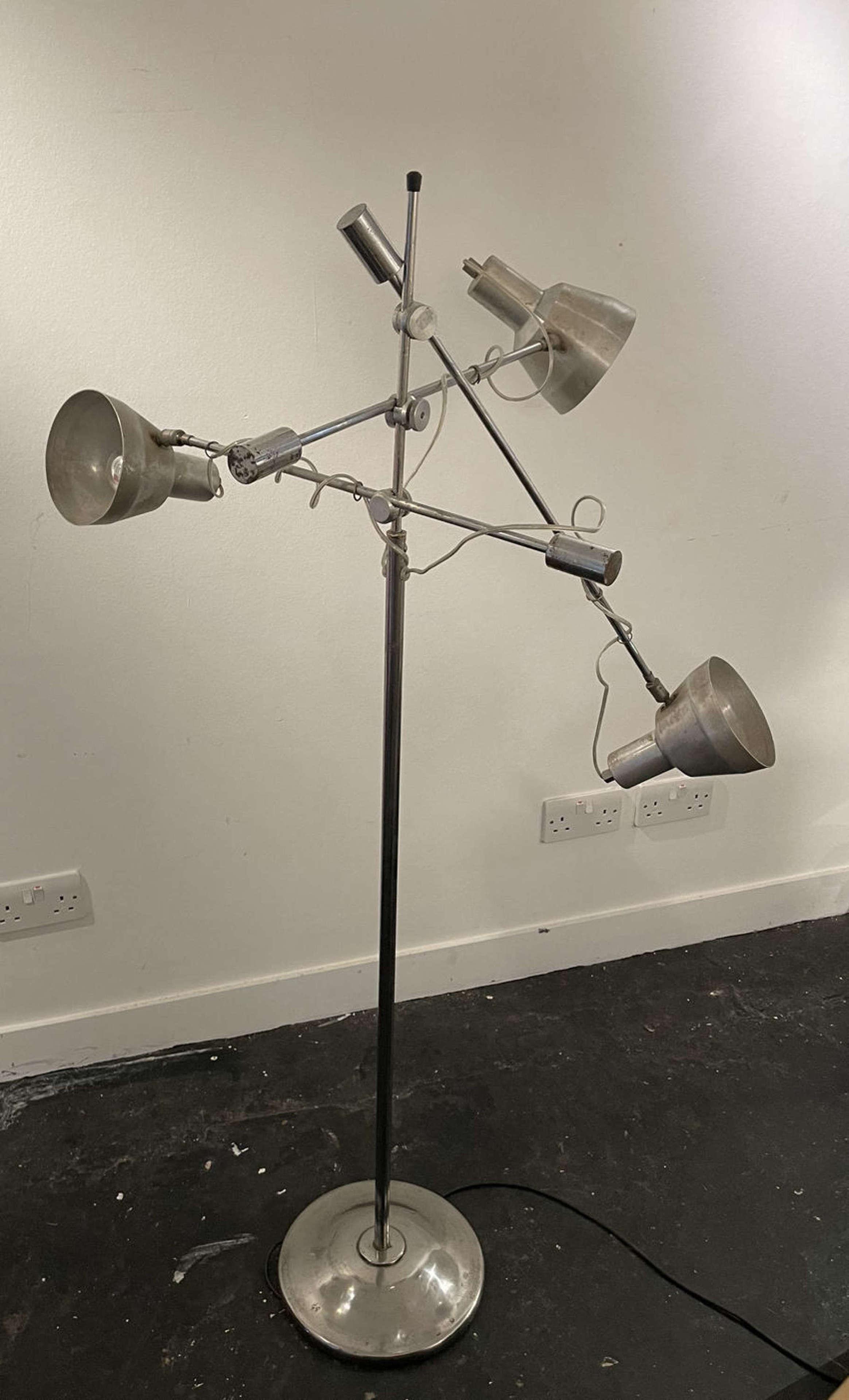 Belgian Mid Century Floor Lamp
